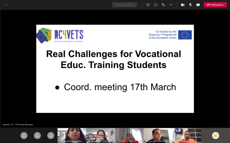 RC4VETs challenge meeting
