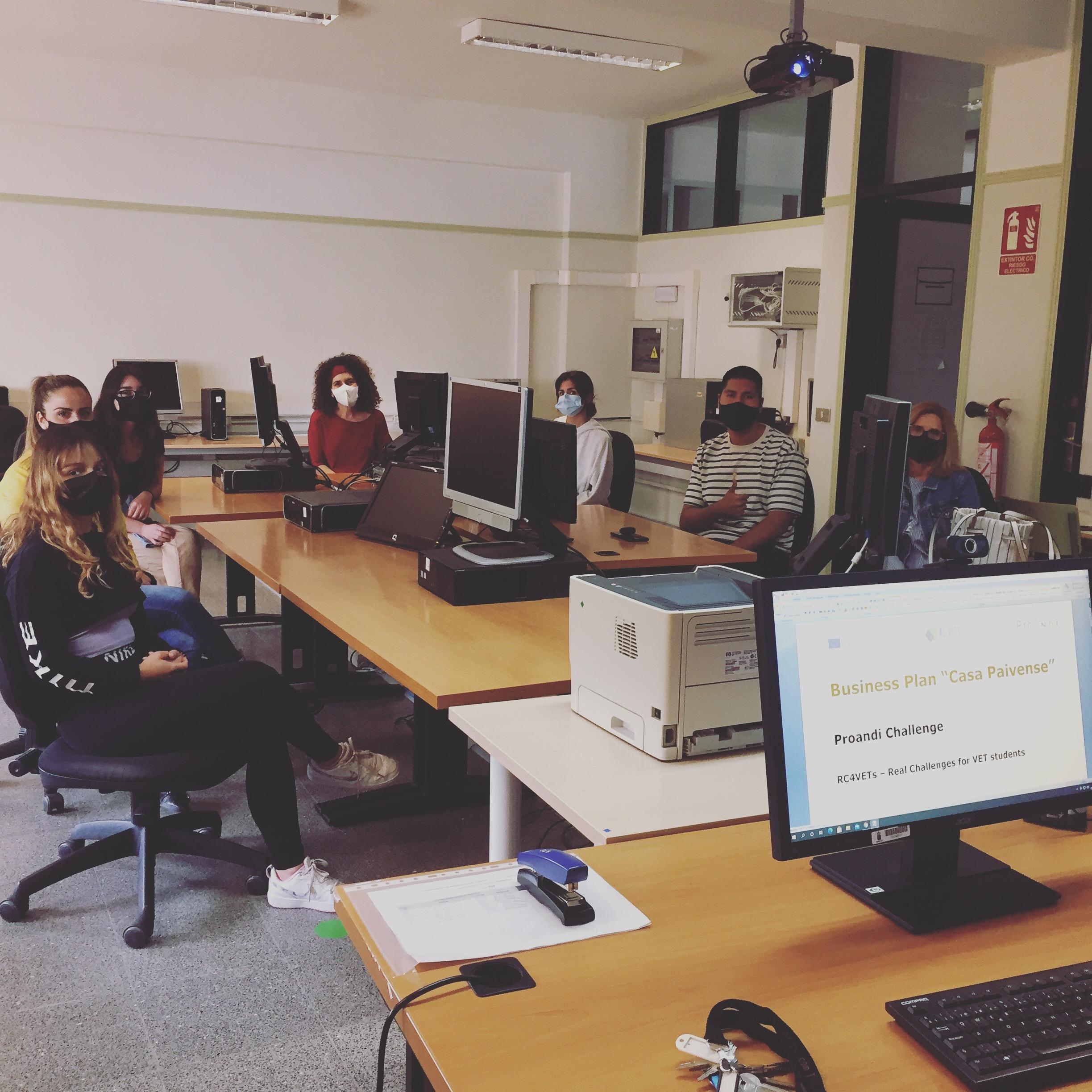 Internal meeting at CIFP César Manrique